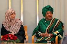 Tawakkul Karman og Ellen Johnson Sirleaf by Aktiv I Oslo.no