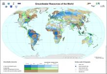 Groundwater Resources of the World Map
